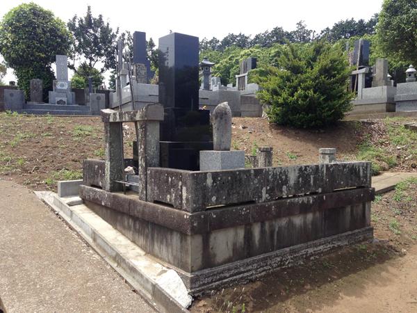 一般的な墓石クリーニング方法