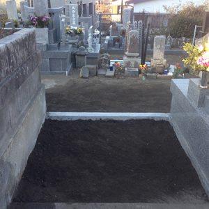 遠方から近場のお墓になりお参りが楽に!